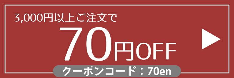 【3,000円以上購入で70円OFF】