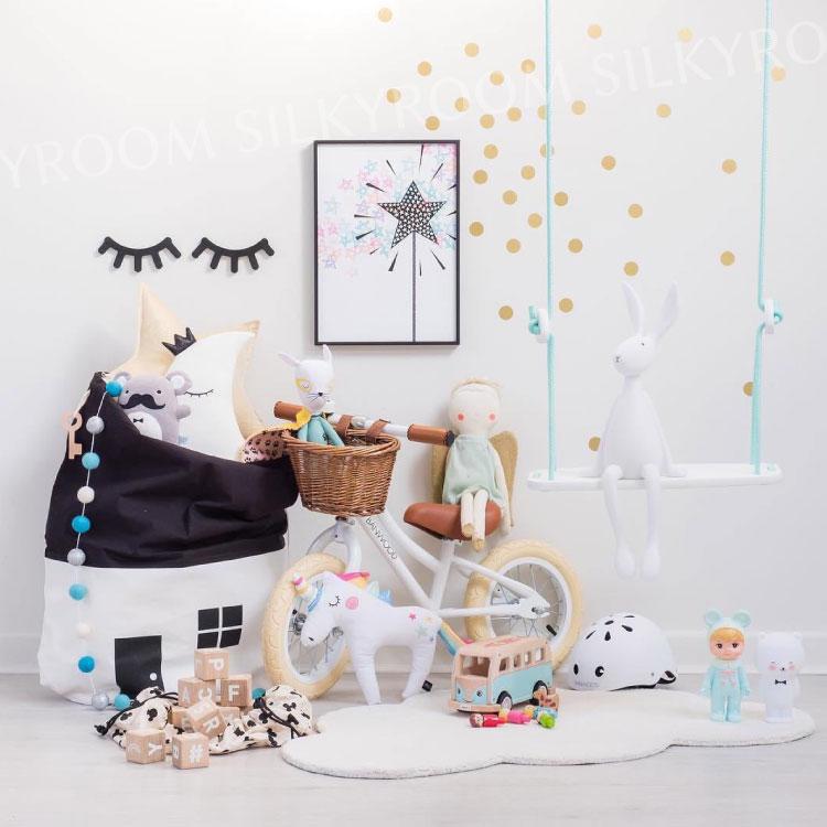 子供部屋があか抜けるようなおしゃれなおもちゃの収納ボックスのおすすめは?