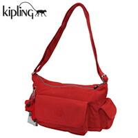 キプリング ショルダーバッグ レッド PRISKA N CARDINAL RED K15340-10P