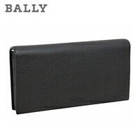 バリー 長財布小銭入れあり ブラック MILANO MIALIRO