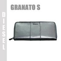 ディーゼル 長財布ラウンドファスナー GEMSTUDS GRANATO S X02811 PR472 T9002