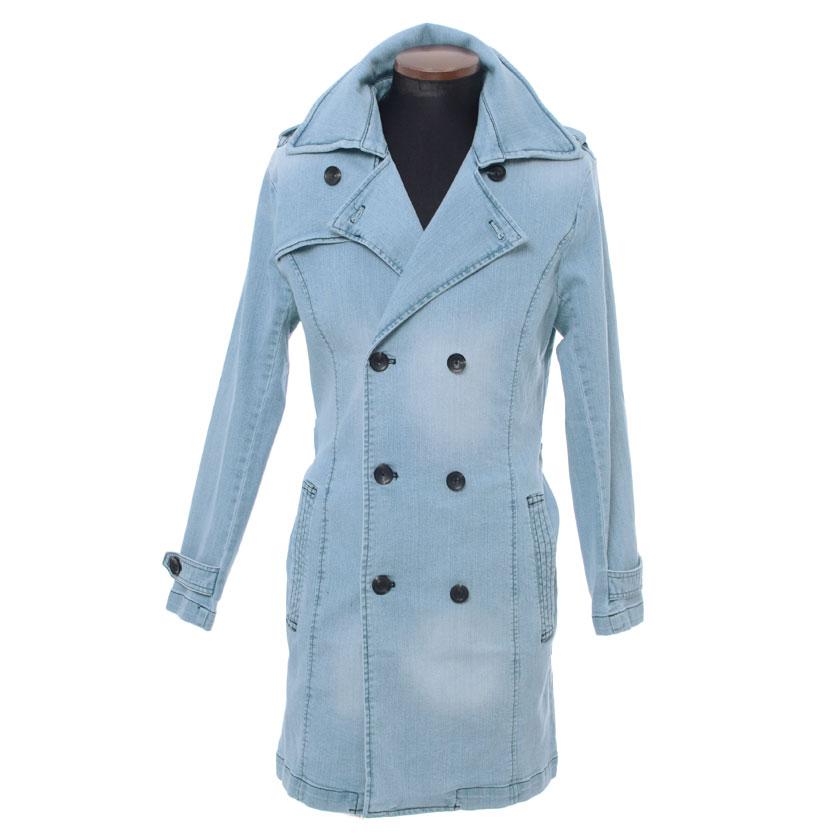 SILVER BULLETのアウター(コート・ジャケットなど)/トレンチコート|BLU(ブルー)