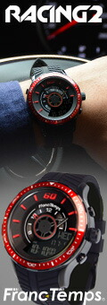 Franc temps Racing2メンズ腕時計