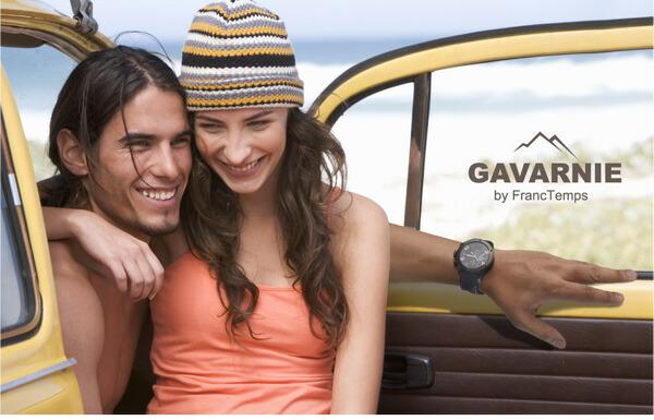 Franc Temps/フランテンプス Gavarnie/ガヴァルニ メンズ腕時計