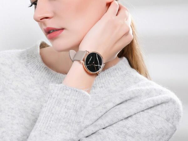 ALLY DENOVO 腕時計 Carrara Mable 36mm メンズ レディース