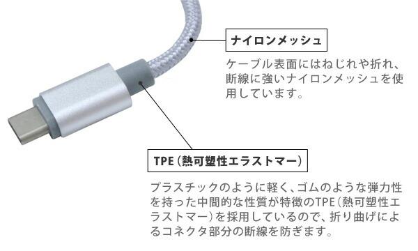 Type-Cアルミニウムケーブル