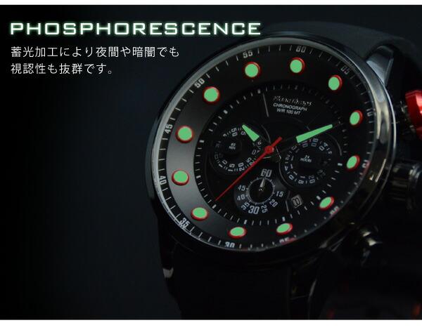 FrancTemps フランテンプス MIGAULT ミゴール 腕時計 メンズ ビッグフェイス