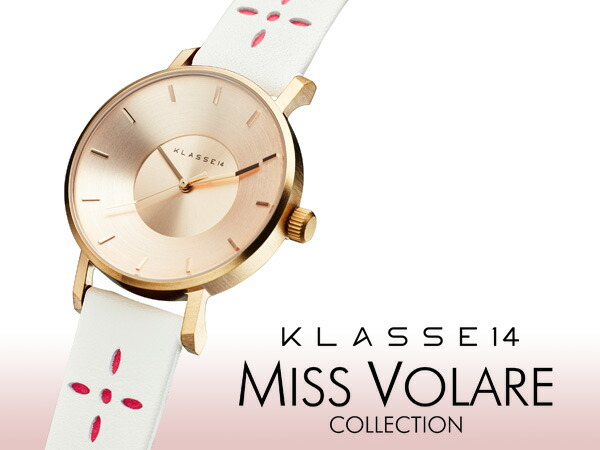 KLASSE14 Miss Volare 2017SS 腕時計