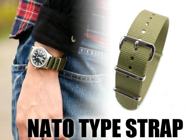 替えベルト NATO STRAP 18mm/20mm/22mm