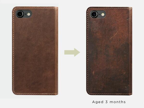 Nomad ノマド Horweenレザー iPhone7ケース レザーフォリオケース 財布