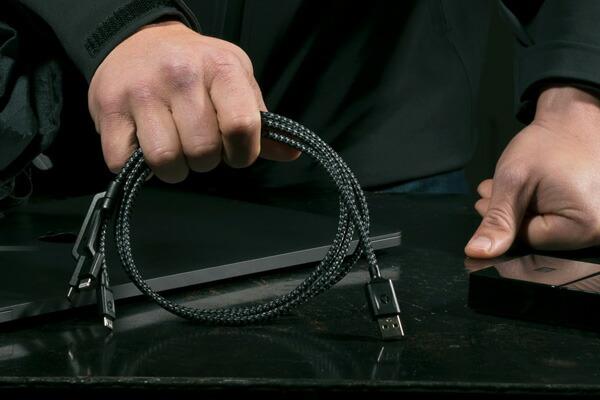 NOMAD ノマド Universal Cable 1.5M ユニバーサルケーブル Lightningケーブル MFi認定 iPhone Android USBタイプC