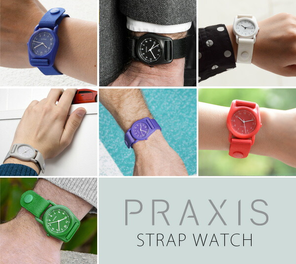 PRAXIS/プラクシス STRAP WATCH ストラップウォッチ