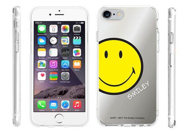iPhone7ケース カバー SMILEY スマイリー ニコちゃんマーク ミラージェリー