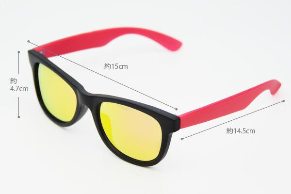 サングラス infinit ミラーサングラス 4905 紫外線99%カット ウェリントン ユニセックス 男女