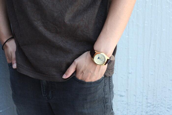 RELAX vintage star/リラックス ヴィンテージスター メンズ腕時計