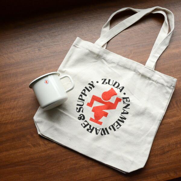 Zuda Classic Enamel Mug ズダクラシックエナメルマグ 琺瑯 ホーロー ほうろう オリジナルキャンバストートバッグ マグカップ 大きい