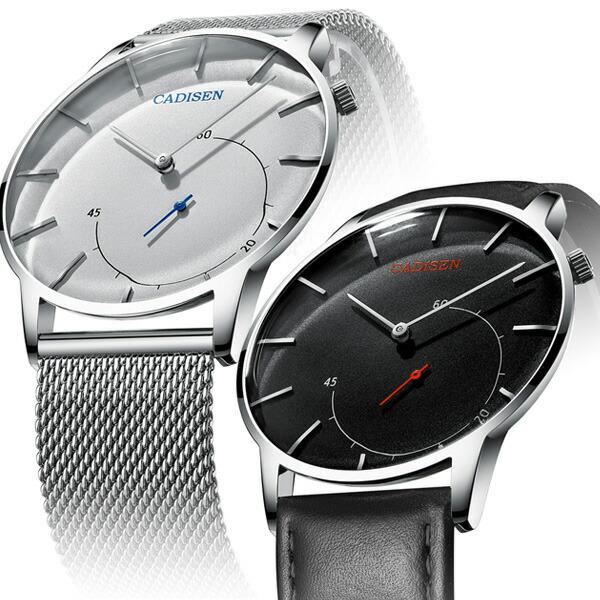 CADISEN メンズ腕時計 スモールセコンド  ビジネス C2029