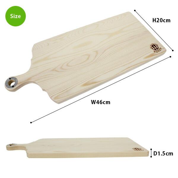 WOODS CUTTING BOARD S カッティングボード Lサイズ 1G-333 おしゃれ パインウッド 木製