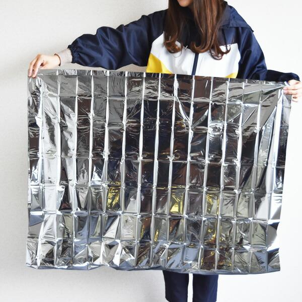 Emergency Space Blanket エマージェンシースペースブランケット