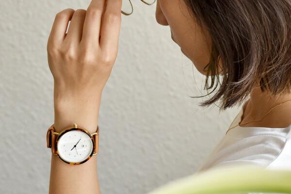 chiandchi チーアンドチー ESU レザーベルト 腕時計 北欧 カスタム