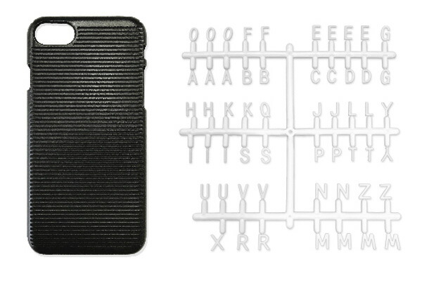 RELAX iPhoneケース LETTER BOARD CASE リラックス レターボードケース