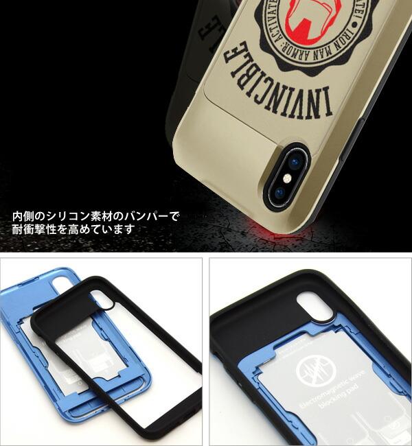 i Slide PRO for iPhoneX アイスライド プロ MARVEL マーベル AVENGERS アベンジャーズ