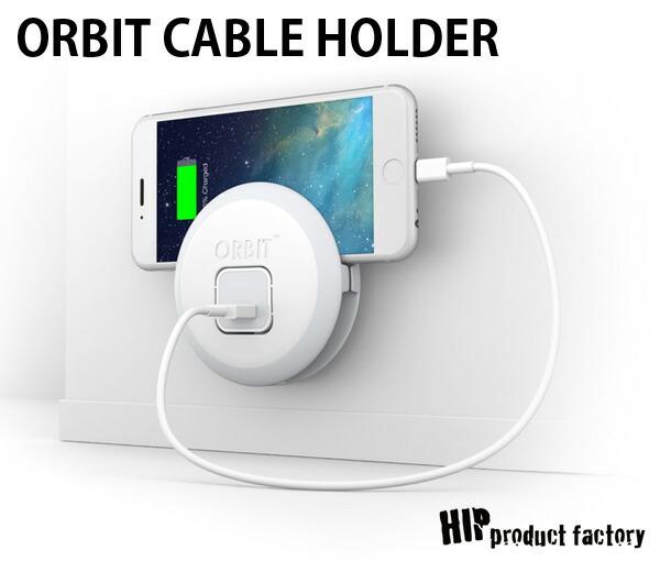 ケーブルホルダー Orbit オービット ケーブルホルダー iPhoneケーブルホルダー