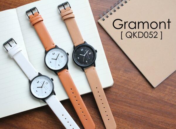 3c6130d1c1 楽天市場】Gramont グラモン QKD052 腕時計 メンズ レディース ユニ ...
