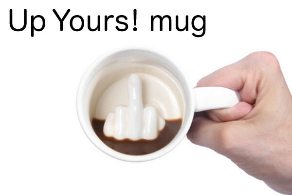 Up your mug マグカップ Middle Finger Mug 中指