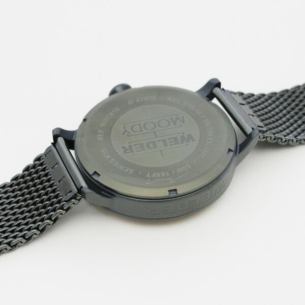 腕時計 WELDER MOODY ウェルダー ムーディー WRC805 42mm 偏光ガラス メッシュベルト 三針