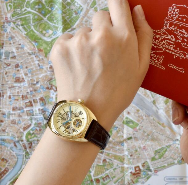ARBUTUS 腕時計 メンズ レディース 機械式ムーブメント ニューヨーク
