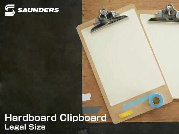 SUANDERS  CLIP BOARD クリップボード リーガル ハードボード クリップボード Legal Size