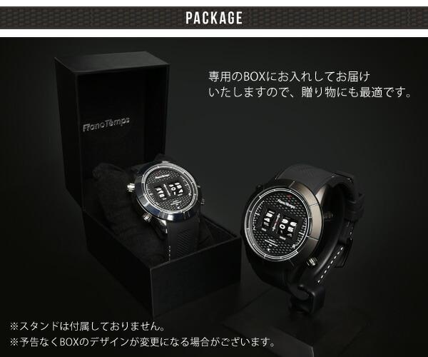 Franc Temps フランテンプス COCKPIT コックピット メンズ腕時計 ドラム式