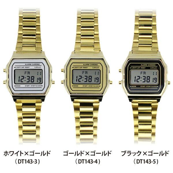 Deep Dyed カッシー DT143 腕時計 メンズ レディース