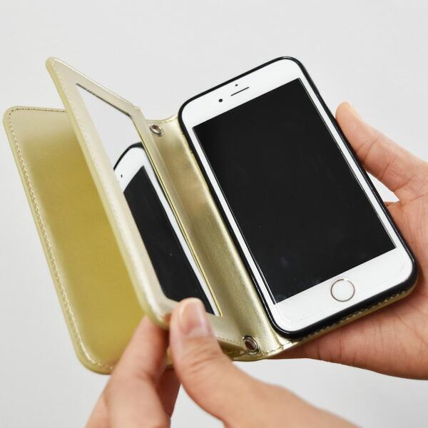 Kajsa カイサ iPhone 8 7 6 6S  ケース Luxe Folio Case リュクス フォリオ ケース カバー
