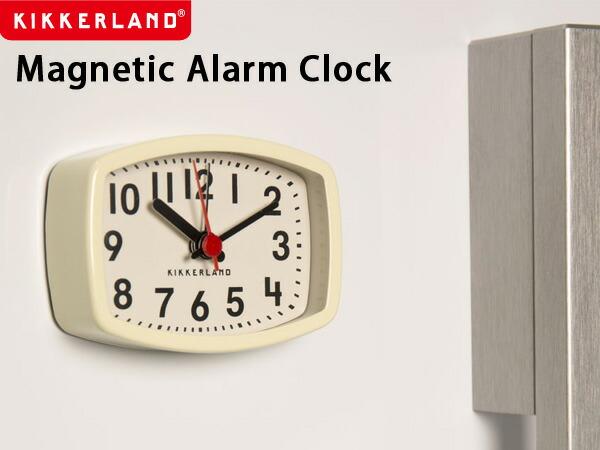 KIKKERLAND Magnetic Alarm Clock/マグネティックアラームクロック