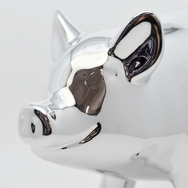 PIG OBJET BANK ピッグオブジェバンク L  貯金箱