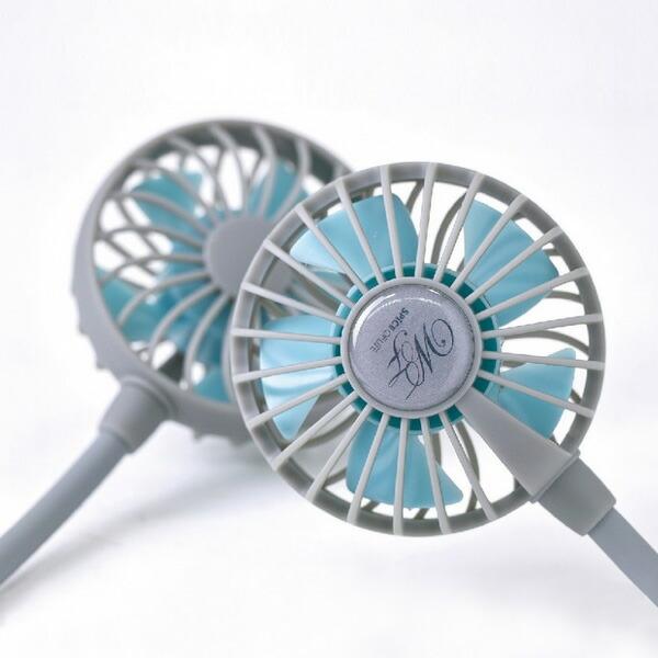 Wfan ハンズフリー扇風機 ファン アウトドア 軽量 屋外
