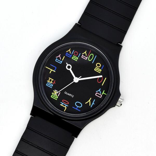 typotime タイポタイム 腕時計 レディース メンズ 韓国 ハングル プチプラ