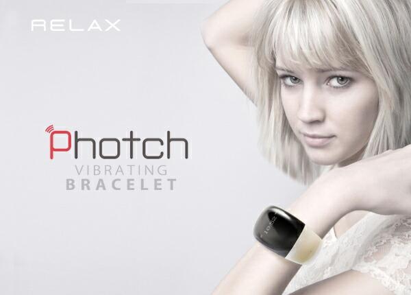 Photch/フォッチ 着信を教えてくれて通話が出来るブレスレットウォッチ Bluetooth ハンズフリー