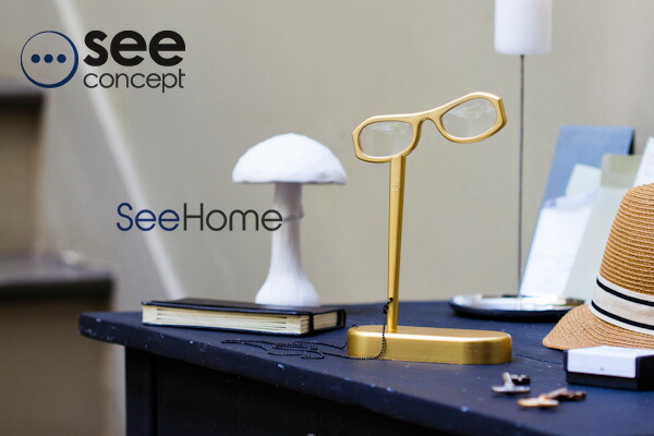 see concept./シーコンセプト see home リーディンググラス 読書用メガネ 老眼鏡