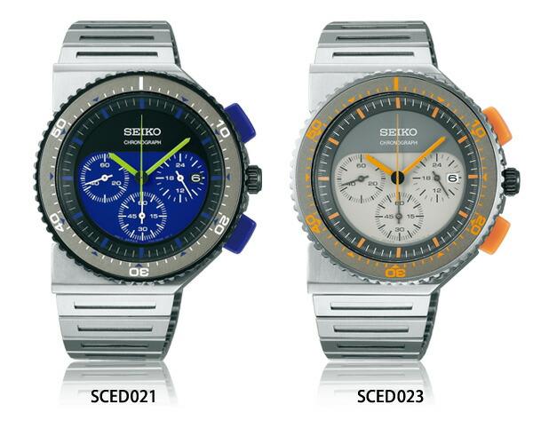 SEIKO/セイコージウジアーロ 限定モデル SCED021 SCED023