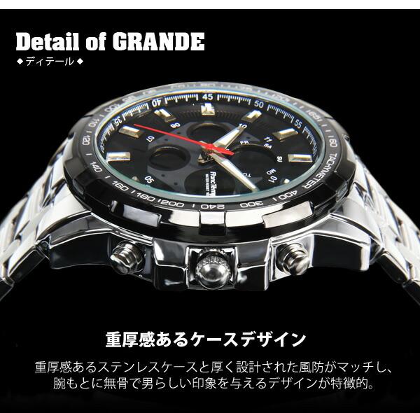 Franc Temps GRANDE腕時計 メンズ腕時計 腕時計