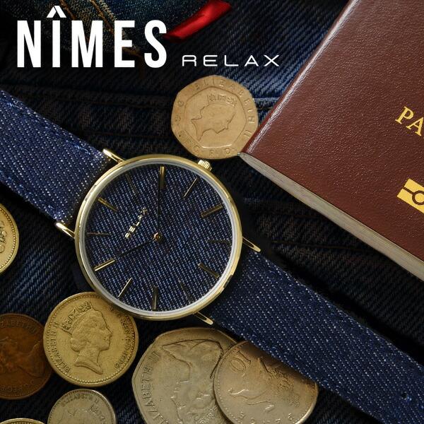 RELAX NIMES ニームス ペアウォッチ
