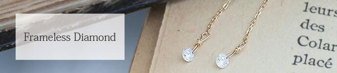 シリーズ穴あきフレームレスダイヤモンド