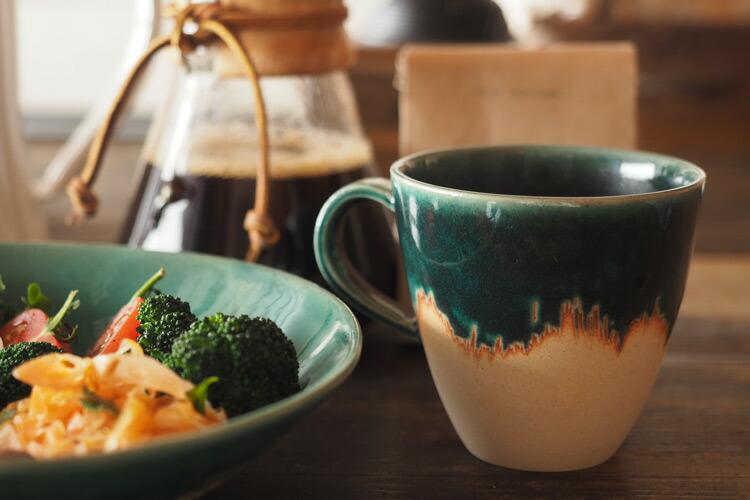 BreadandRice(パンとごはんと...)美濃焼美濃文山窯艶釉の器マグカップ菱沼未央さん