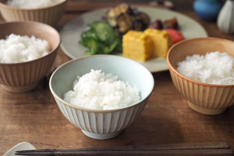 Bread and Rice (パンとごはんと...) 美濃焼 竹隆窯 ご飯茶碗 菱沼未央さん タイトルイメージ