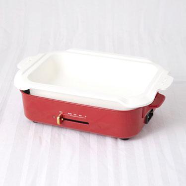 BRUNO ホットプレート用セラミックコート鍋
