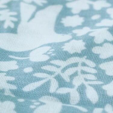 QUARTER REPORT(クォーターリポート)岡理恵子 Baby Gift Set (ベビーギフトセット)【小鳥】スタイ・ブルマパンツ