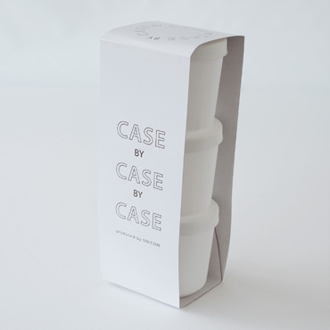 CASEbyCASEbyCASE カラフル保存容器 パッケージ
